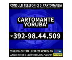 CARTOMANZIA TELEFONICA A BASSO COSTO - CARTOMANTE YORUBA'