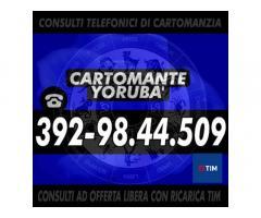 "Consulenza esoterica con offerta libera - Studio di Cartomanzia ""Cartomante Yoruba"""