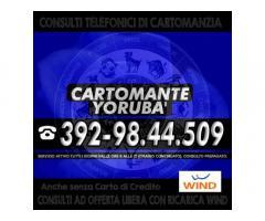 Consulto di Cartomanzia con offerta libera (ricarica telefonica WIND) - Cartomante Yoruba'